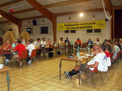 """14 septembre 2011, accueil à Carcès du \""""1000 du Sud\"""""""