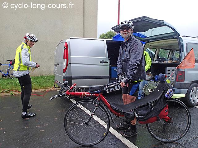 """30 juin 2017 : contrôle-ravitaillement """"1000 de Ménigoute"""" : michel & Jean-Marie"""
