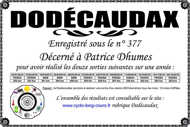 0377-Diplôme-Dodécaudax-Patrice-Dhumes