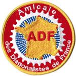 Ecusson de l'ADF (Amicale des Diagonalistes de France)