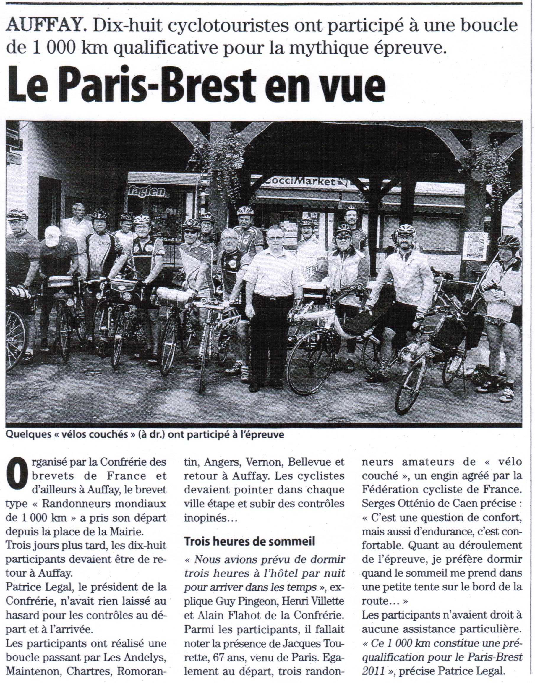 Article Paris-Normandie du 27 août 2010