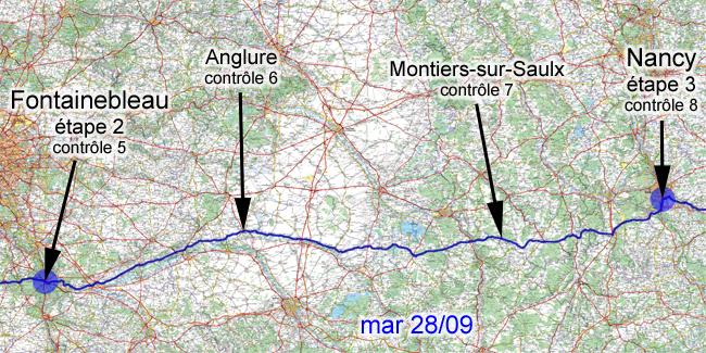 28 septembre 2010, Fontainebleau-Nancy