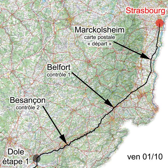 1er octobre 2010, Strasbourg-Dole