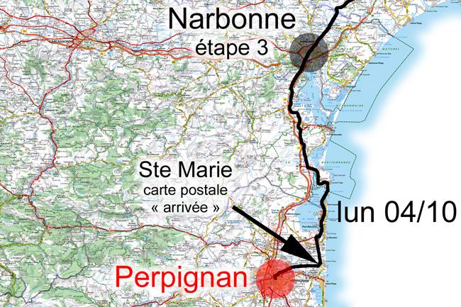 4 octobre 2010, Narbonne-Perpignan
