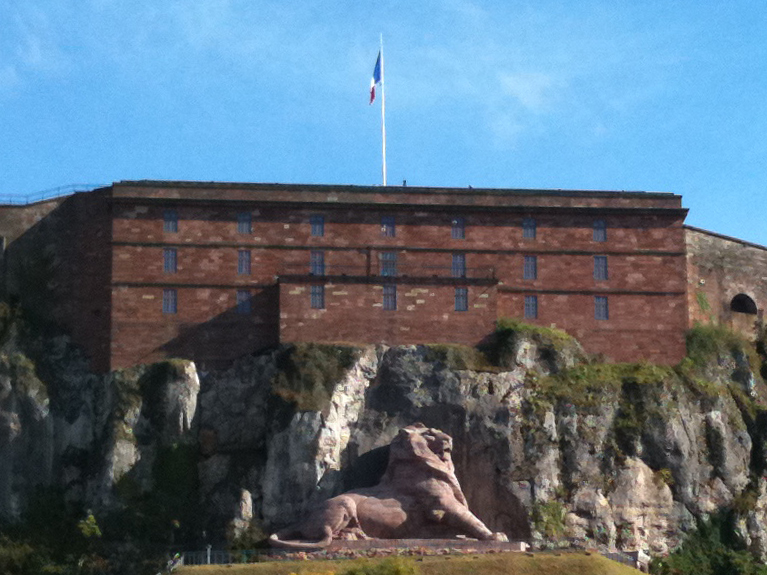 Le Lion de Belfort, sculpture de Bartoldi