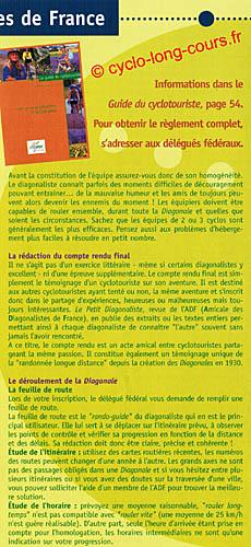 Plaquette des Diagonales de France - Volet 2