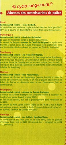 Plaquette des Diagonales de France - Volet 4