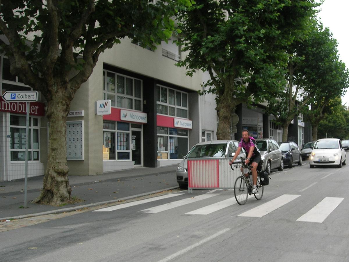 Arrivée rue Colbert