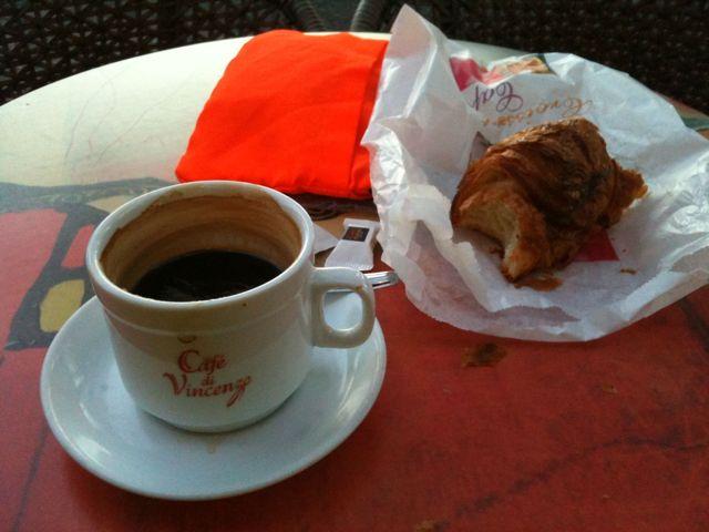 Petit-déjeuner à La Voulte sur Rhône