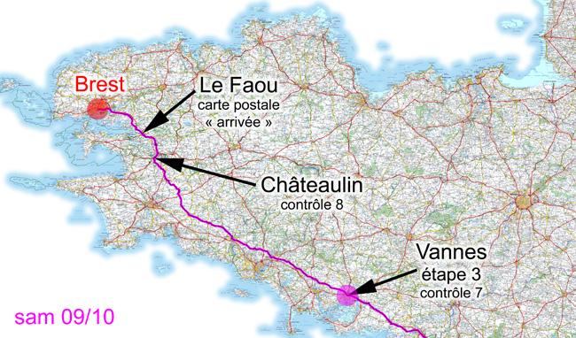 9 octobre 2010, Vannes-Brest