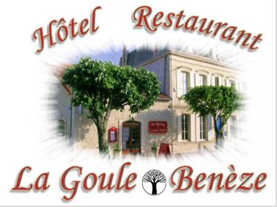 Hôtel-restaurant La Goule Benèze à Saint-Jean-d'Angély