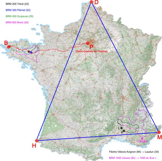 Programme Longues distances 2011