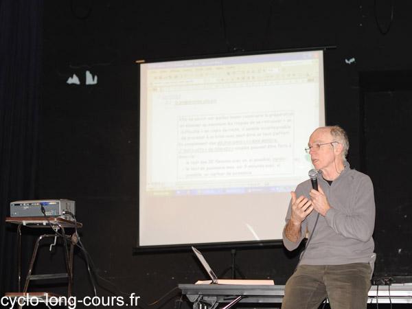 Daniel JACOB, préparateur physique à l'IUFM de Bretagne - Photo ©cyclo-long-cours.fr