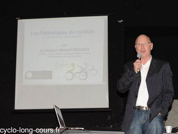 Dr Michel FRESSIER : pathologies - Photo ©cyclo-long-cours.fr