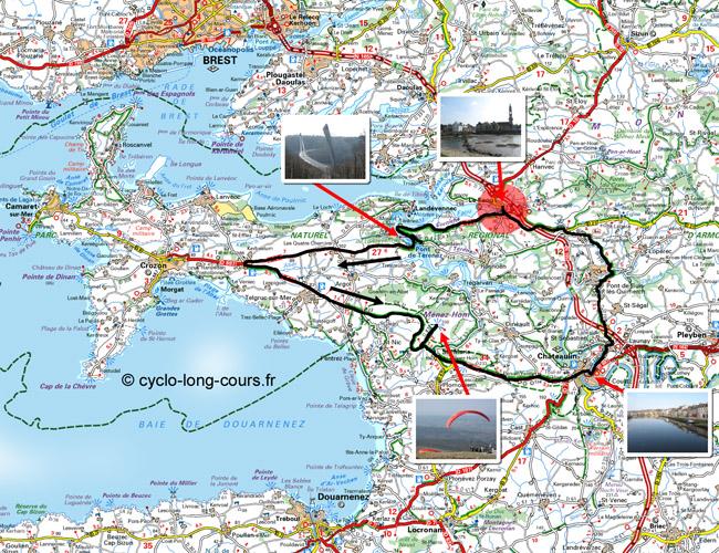 Circuit de 78 Kilomètres autour du Ménez-Hom