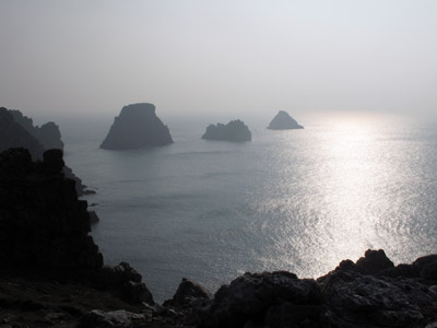Pointe de Pen-Hir : les Tas de Pois