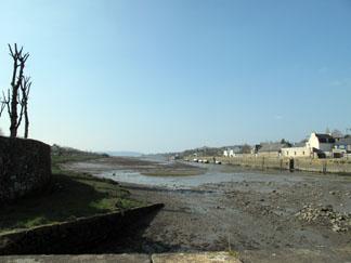 La 'Rivière du Faou' à marée basse