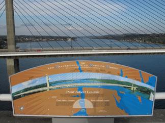 L'Elorn et le pont de l'Iroise