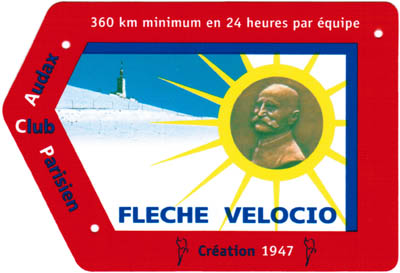 Flche Vlocio : la plaque de cadre