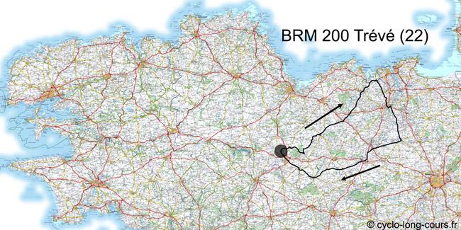 03 avril 2011 : BRM200 de Trévé, Côtes d'Armor