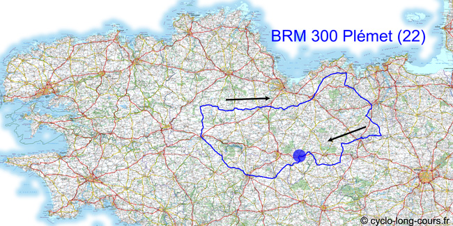 17 avril 2011 : BRM300 de Plmet, Ctes d'Armor