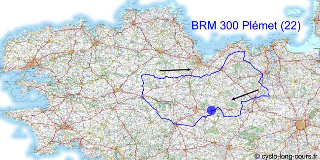 17 avril 2011 : BRM300 de Plémet, Côtes d'Armor