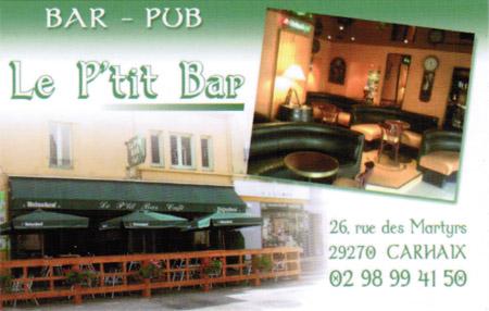 Le P'tit Bar à Carhaix