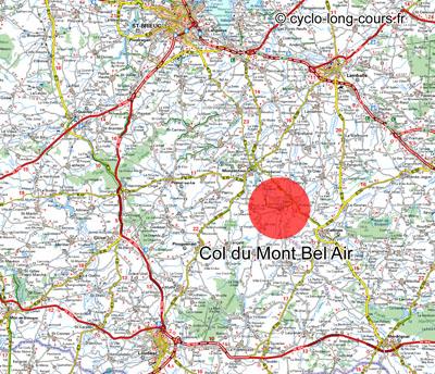 Col du Mont Bel-Air, Côtes d'Armor