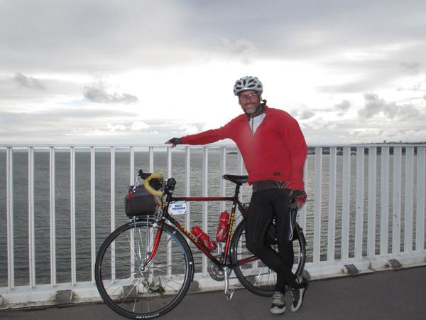 Le pont Albert Louppe, la rade de Brest. Une photo souvenir !