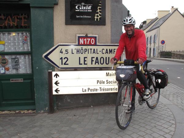 Daoulas. Bonne route Pascal !