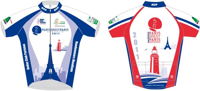 Paris-Brest-Paris 2011 : le maillot