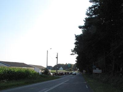 Arrivée à Dirinon