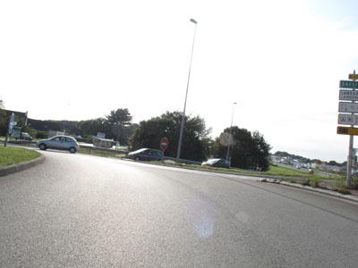 Arrivée à Plougastel-Daoulas