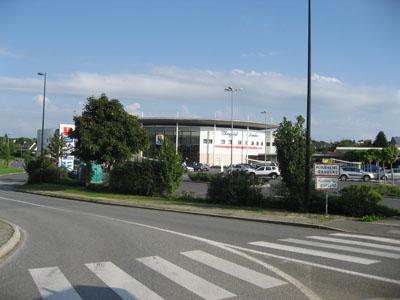 Super-U en sortie de Plougastel-Daoulas