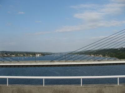 L'Elorn vue du pont Albert Louppe