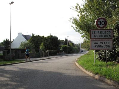 Sortie du pont Albert Louppe