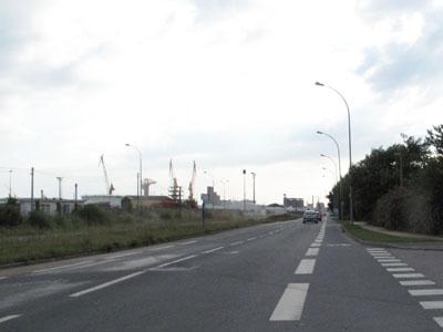 Brest, le port de commerce