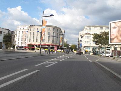 Brest : la rue du Château