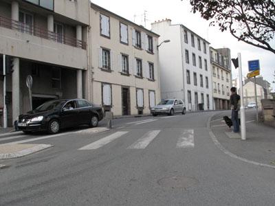 Brest : la rue Sébastopol