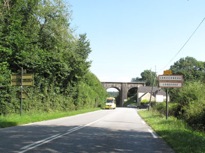 Arrivée sur Landerneau