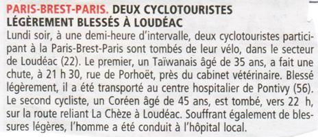 Le Télégramme du 24 août 2011