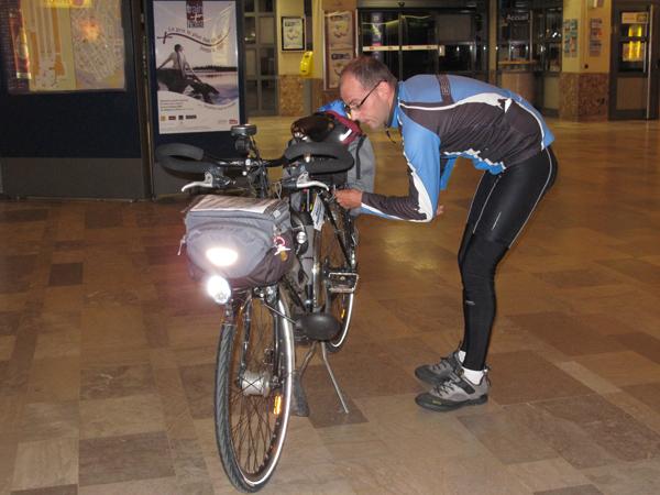 Tout bien remonter sur le vélo !