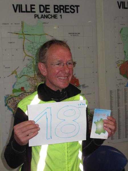 Jean-Michel vient de boucler sa 18ème Diagonale !