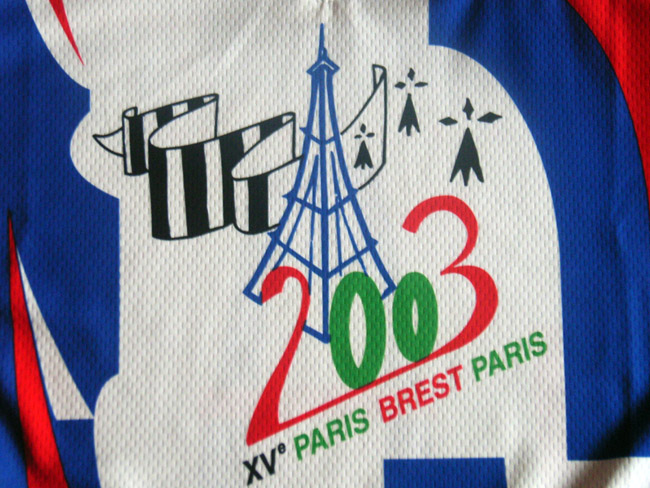 Maillot Paris-Brest-Paris dition 2003