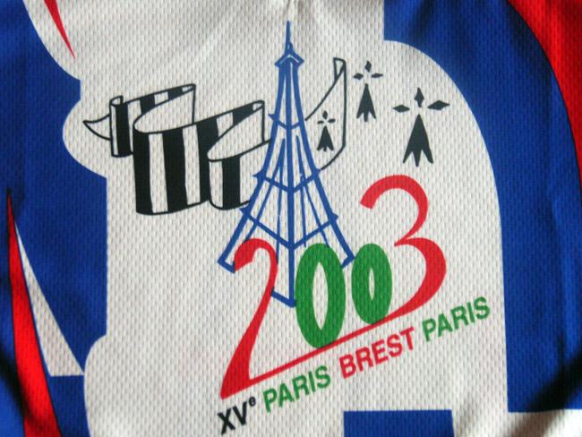 Maillot Paris-Brest-Paris édition 2003