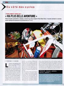 VÉLO MAGAZINE, septembre 2011, page 102