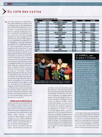 VÉLO MAGAZINE, septembre 2011, page 104