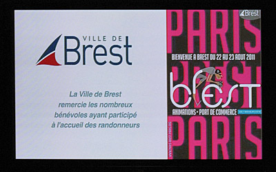 15 dcembre 2011, rception  la Mairie de Brest
