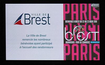 15 décembre 2011, réception à la Mairie de Brest