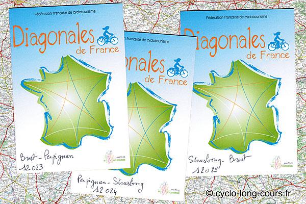 Carnets de route Diagonales Brest-Perpignan-Strasbourg-Brest